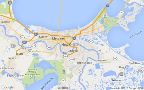 New Orleans Irs Debt Louisiana Instant Tax Attorney: Map New Orleans Google At Usa Maps